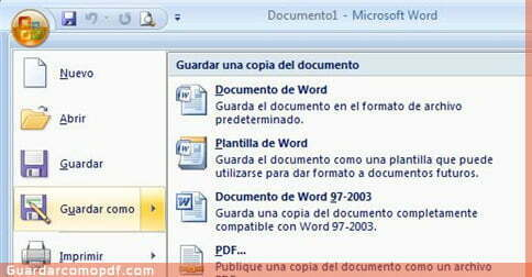Como Gurdar en pdf