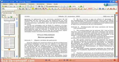Como guardar archivos en pdf