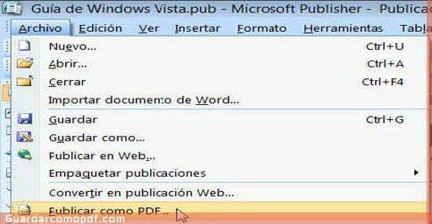 Complemento guardar como pdf