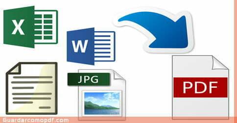 Como crear un archivo PDF