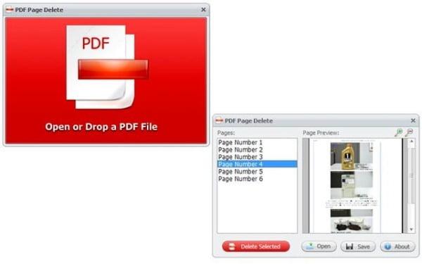 borrar páginas de archivos PDF