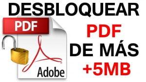 Como desbloquear un pdf