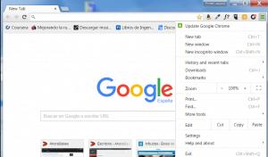 Como borrar el historial de google