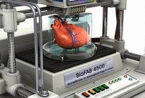 bioimpresora de organos 3d