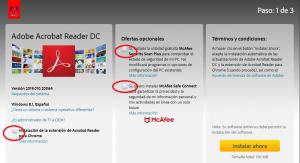 instalar adobe reader