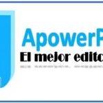 ApowerPDF el mejor Editor PDF