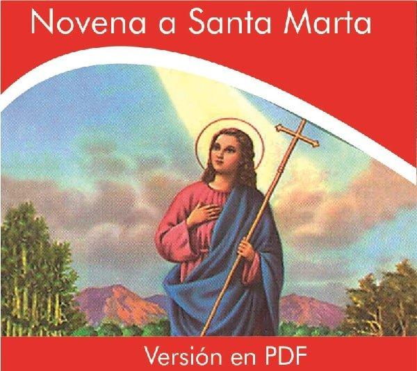 Novena a santa marta PDF