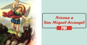 Novena al arcangel san miguel PDF