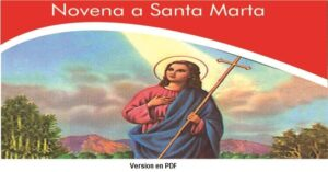 novena a la virgen santa marta PDF