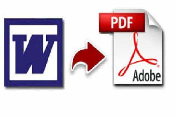 ¿Cómo convertir Word a PDF?