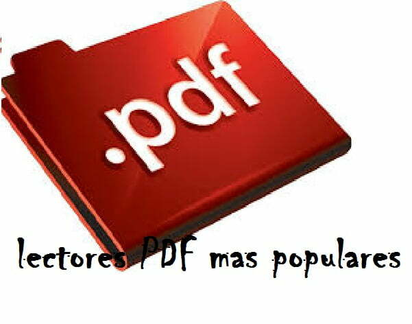 Lectores pdf mas populares