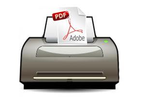 Imprimir archivo pdf