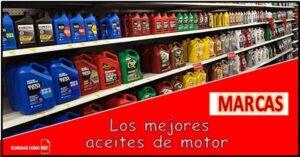 Los mejores aceites de motor del mundo