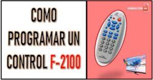 pasos para programar un control f-2100